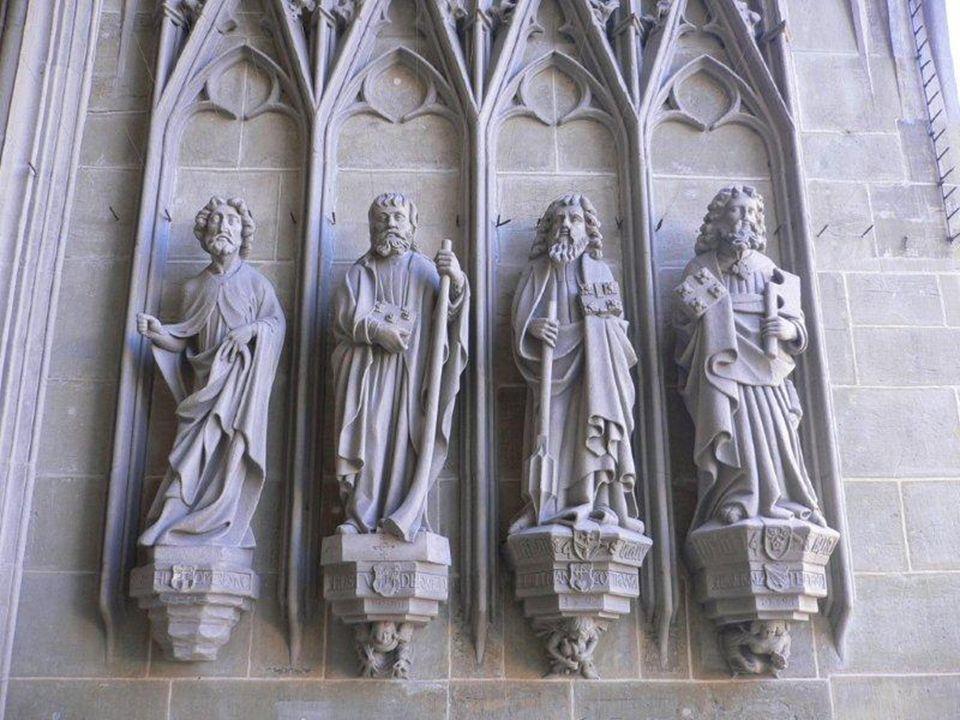 Dice: Là io ho sentito che una grande consolazione e la presenza della grazia mi erano concesse per mezzo di tali intercessori [Pietro e Paolo].