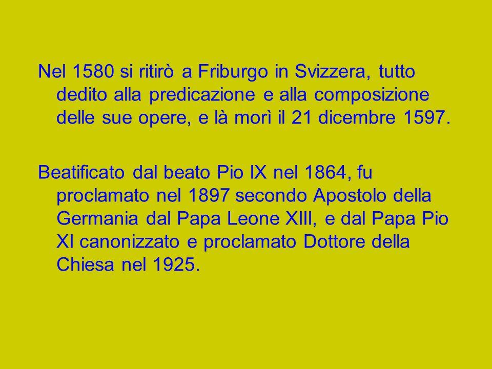 In quel tempo partecipò anche al colloquio di Worms con i dirigenti protestanti, tra i quali Filippo Melantone (1557); svolse la funzione di Nunzio pontificio in Polonia (1558); partecipò alle due Diete di Augusta (1559 e 1565); accompagnò il Cardinale Stanislao Hozjusz, legato del Papa Pio IV presso lImperatore Ferdinando (1560); intervenne alla Sessione finale del Concilio di Trento dove parlò sulla questione della Comunione sotto le due specie e dellIndice dei libri proibiti (1562).