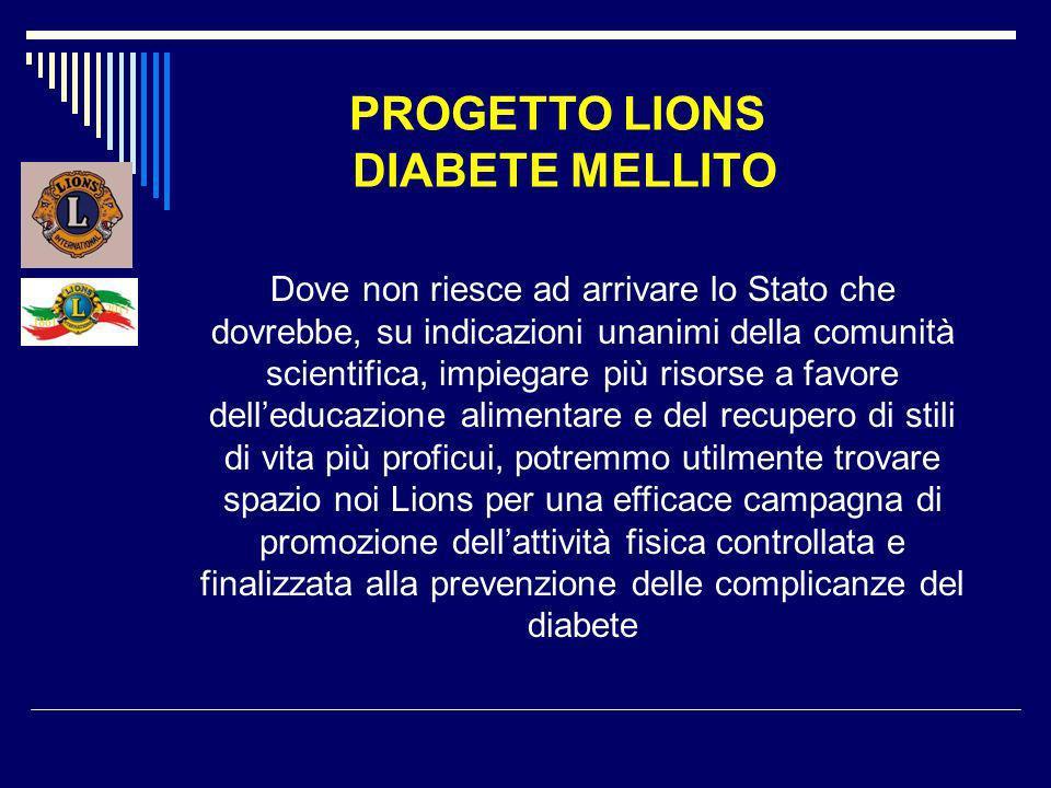 PROGETTO LIONS DIABETE MELLITO Il fitwalking è un particolare tipo di attività motoria soft, che utilizza particolari modalità di controllo della normale camminata al fine di ottimizzare il consumo calorico ed il metabolismo muscolare.