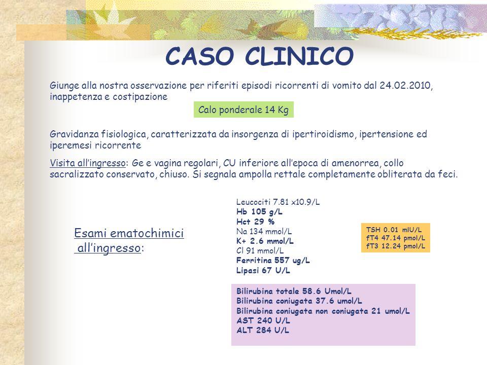 Ecografia addome completo del 02.03.2010: […] colecisti discretamente distesa, contiene fango biliare.