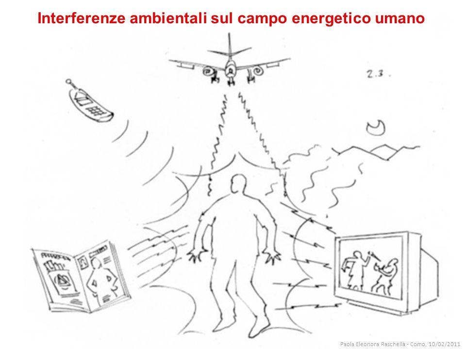 Interferenze ambientali sul campo energetico umano Paola Eleonora Raschellà - Como, 10/02/2011