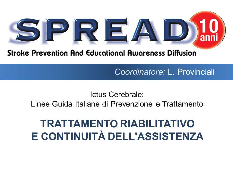Raccomandazione 15.45Grado B È indicato valutare la necessità di ausili sulla base del progetto riabilitativo individuale.