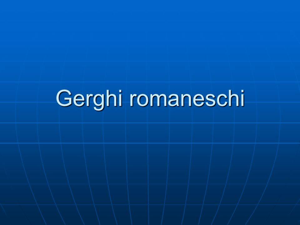 Gerghi romaneschi