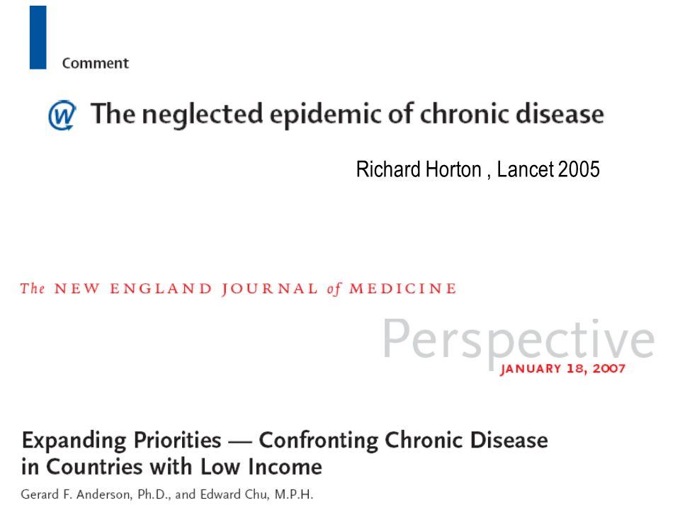Richard Horton, Lancet 2005