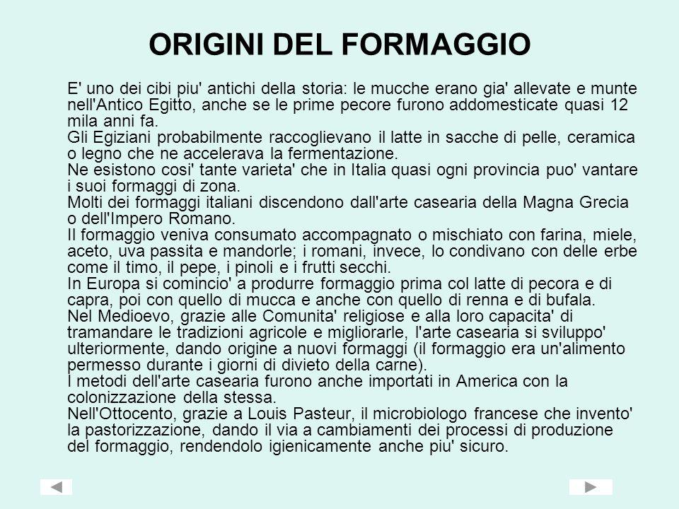 VENETO IL FORMAGGIO ASIAGO DOP Il formaggio Asiago Dop è un grande alimento italiano, riconosciuto ed apprezzato anche all estero.