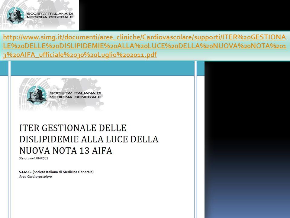 http://www.simg.it/documenti/aree_cliniche/Cardiovascolare/supporti/ITER%20GESTIONA LE%20DELLE%20DISLIPIDEMIE%20ALLA%20LUCE%20DELLA%20NUOVA%20NOTA%201