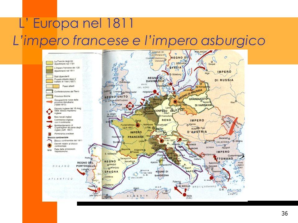 37 L Europa nel 1815 dopo il trattato di Vienna
