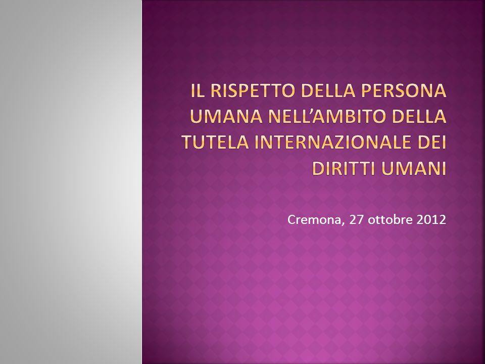 Cremona, 27 ottobre 2012