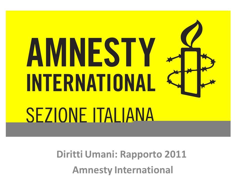 Diritti Umani: Rapporto 2011 Amnesty International