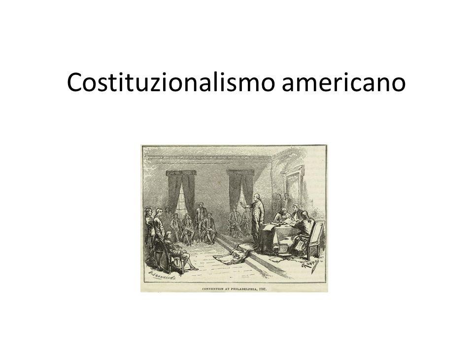 Costituzionalismo americano