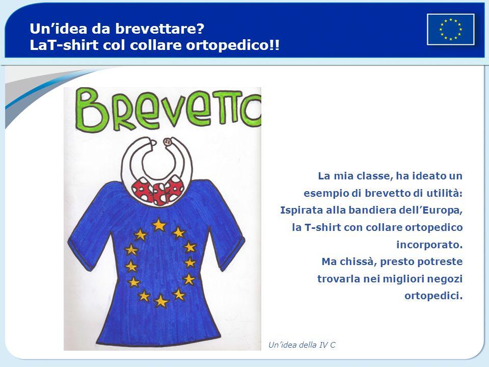 Unidea da brevettare.LaT-shirt col collare ortopedico!.