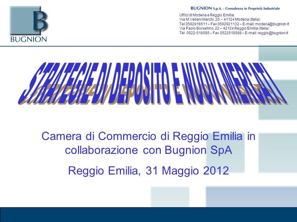 Corso Brand Naming – Modena, 30 marzo 2011 Uffici di Modena e Reggio Emilia: Via M.Vellani Marchi, 20 – 41124 Modena (Italia) Tel.0592916511 – Fax 0592921132 – E-mail: modena@bugnion.it Via Paolo Borsellino, 22 – 42124 Reggio Emilia (Italia) Tel.
