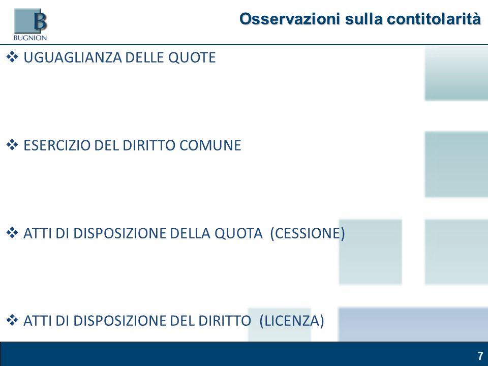 Corso Brand Naming – Modena, 30 marzo 2011 Diritti di brevetto Diritti di brevetto 18 art.