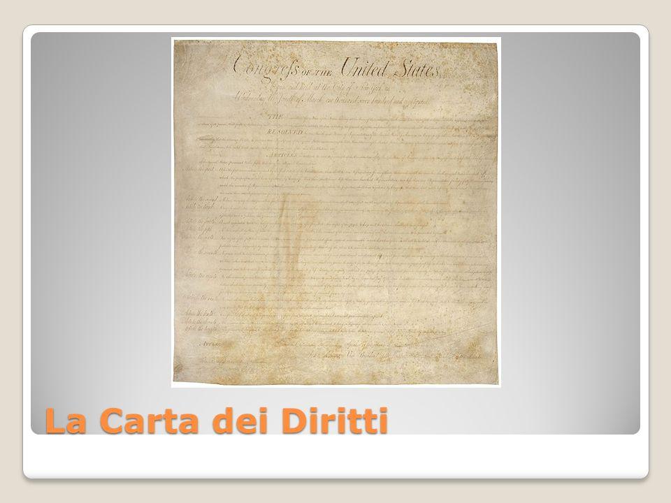 La Carta dei Diritti