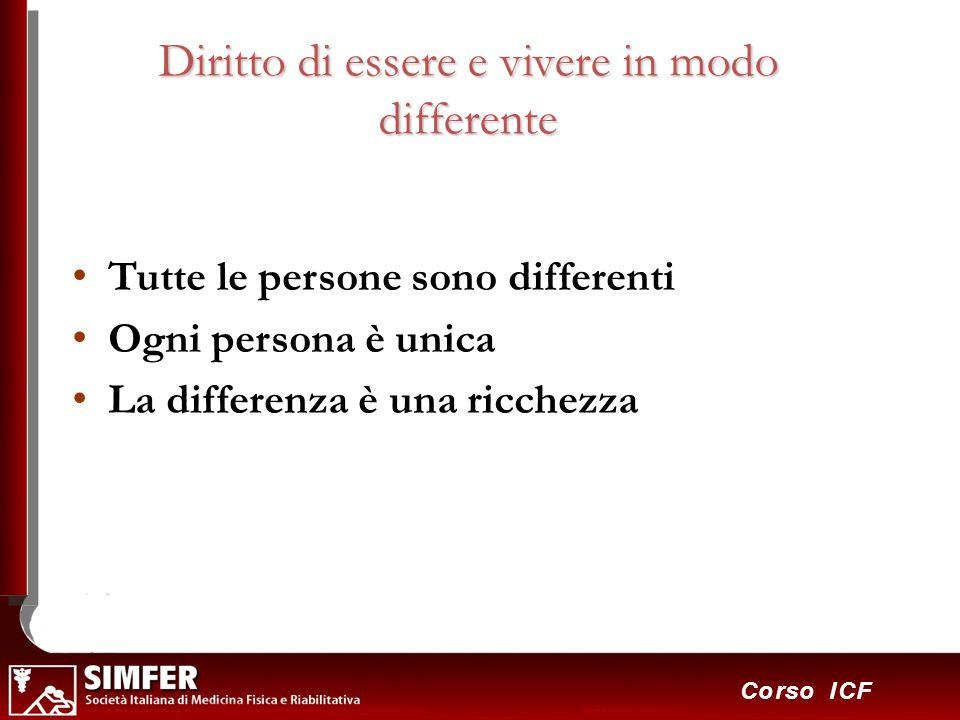 4 Diritto di essere e vivere in modo differente Tutte le persone sono differenti Ogni persona è unica La differenza è una ricchezza