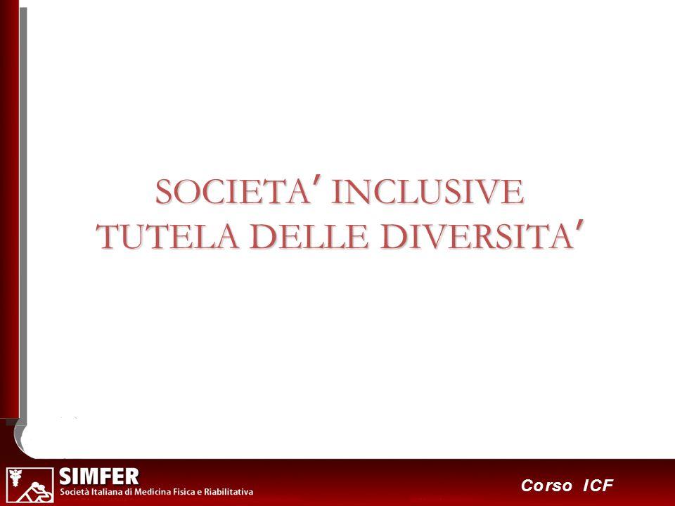 5 Corso ICF SOCIETA INCLUSIVE TUTELA DELLE DIVERSITA