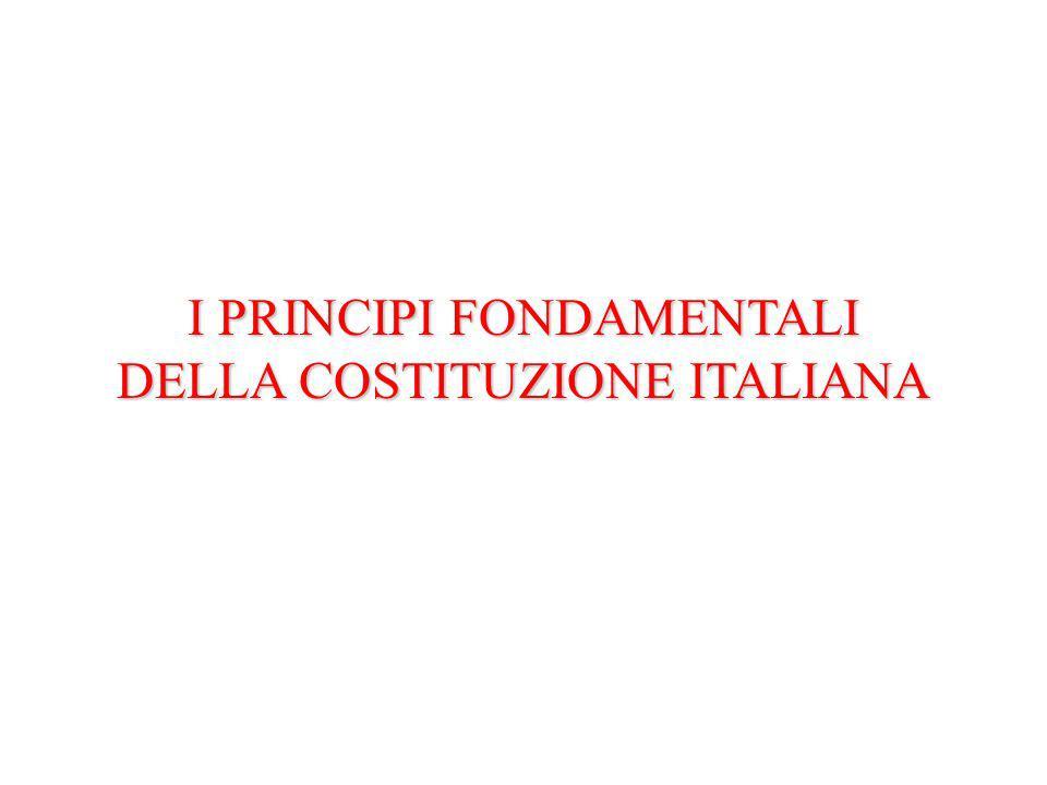 Parlamento Costituzione Come nasce una legge Principi fondamentali (Art.