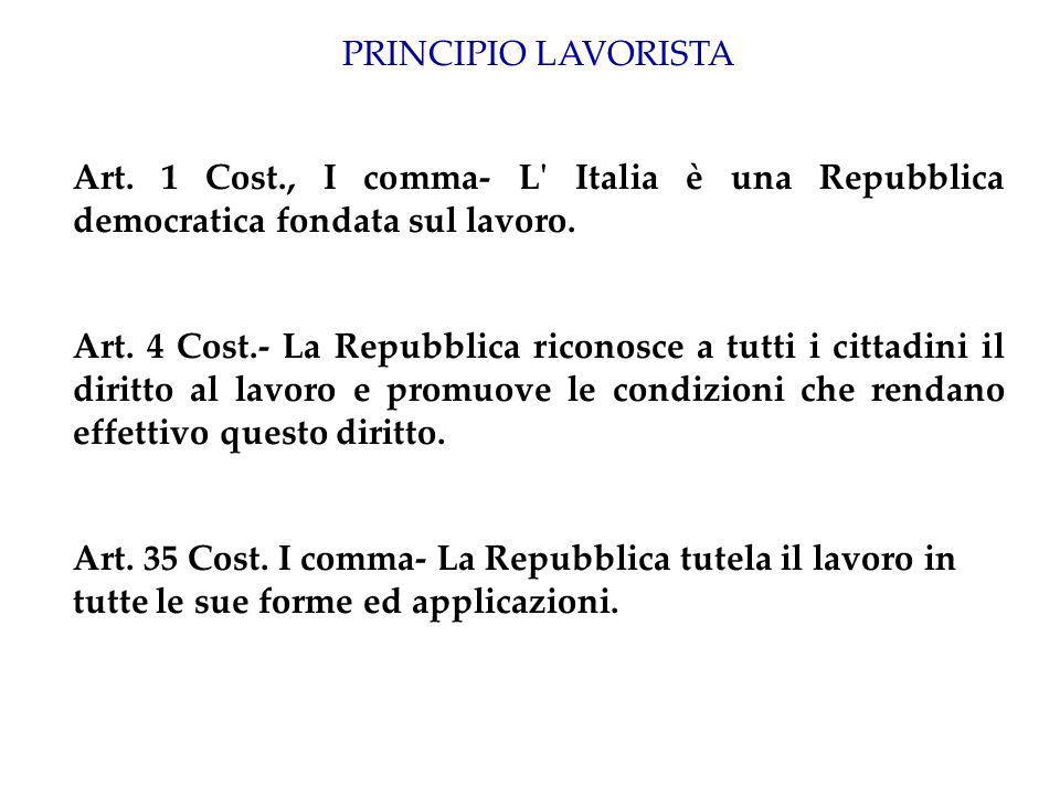 L art.3, II comma come norma di programma L art.