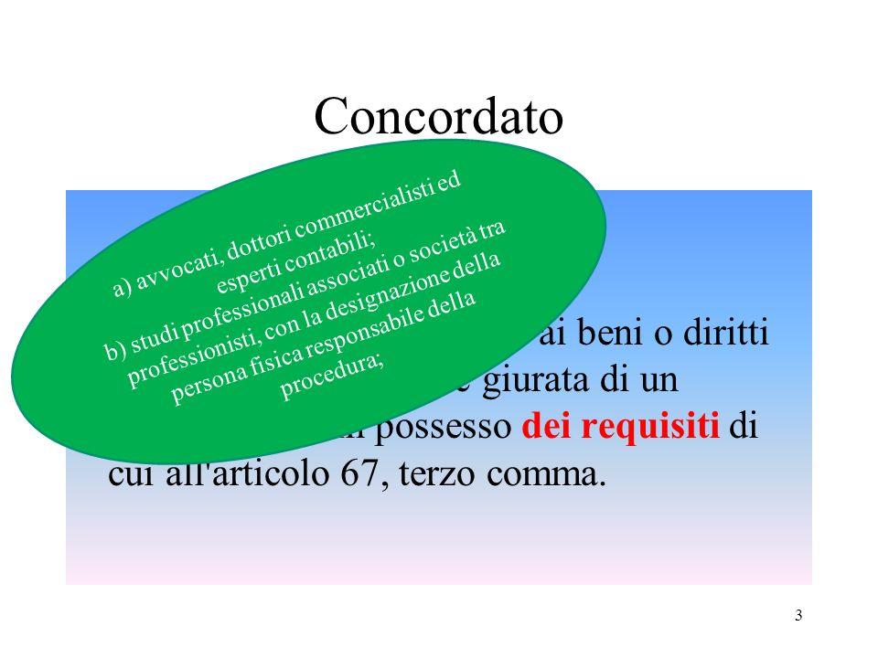 Giurisprudenza (Cass. civ., Sez. I, 23/07/2007, n.16215) ipotesi … più o meno ottimistiche 24