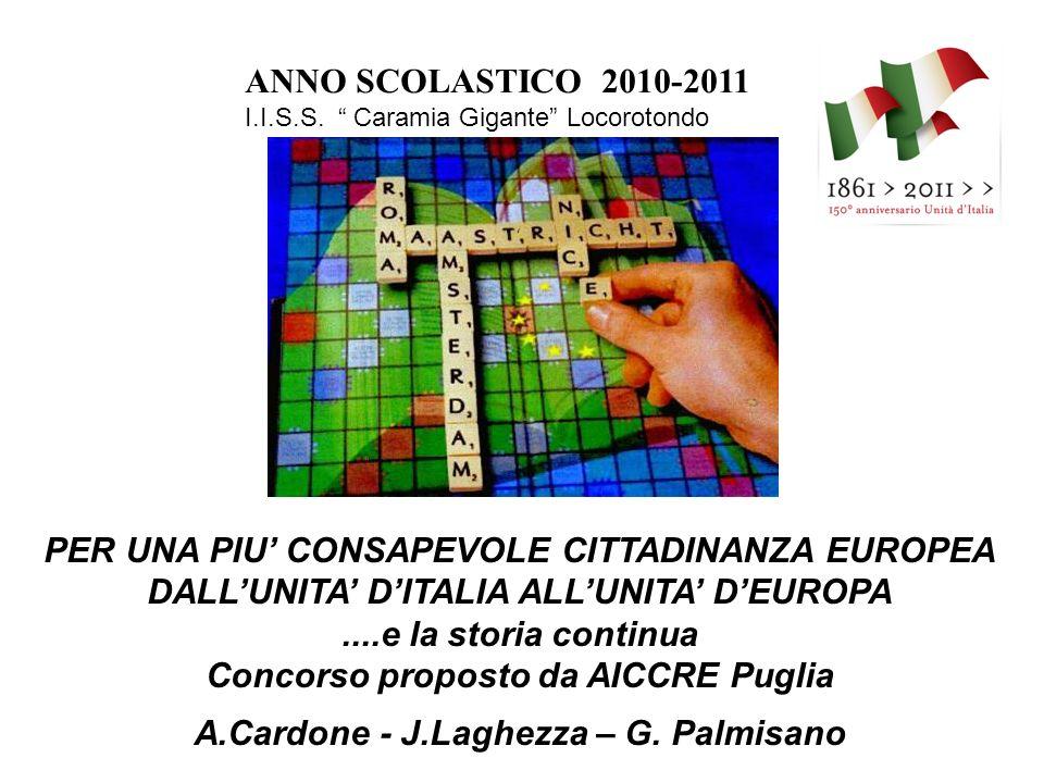 ANNO SCOLASTICO 2010-2011 I.I.S.S.