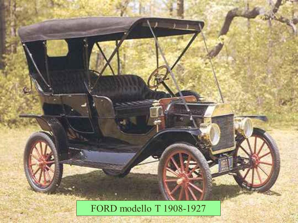 FORD modello T 1908-1927