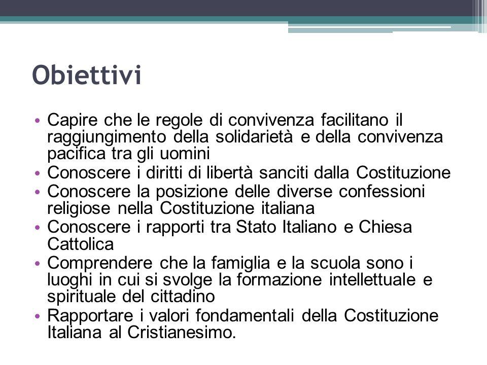 Documenti a confronto Statuto Albertino Costituzione Italiana