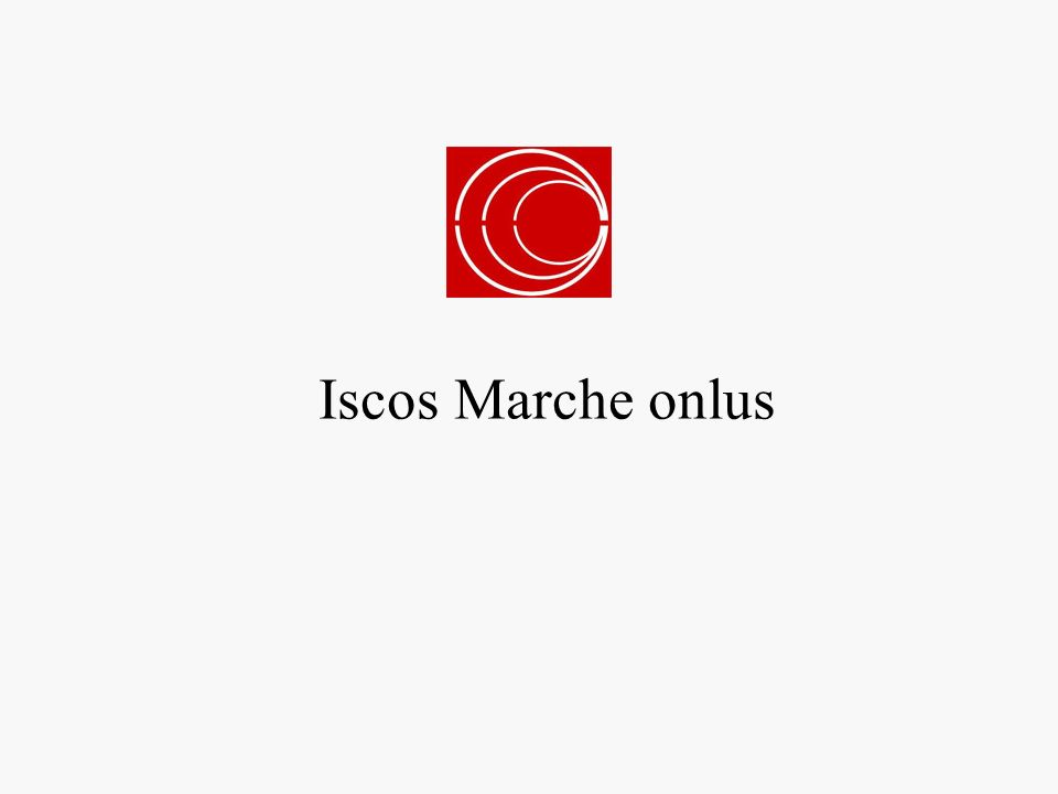 Iscos Marche onlus