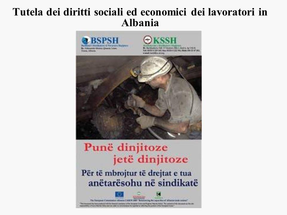 Tutela dei diritti sociali ed economici dei lavoratori in Albania