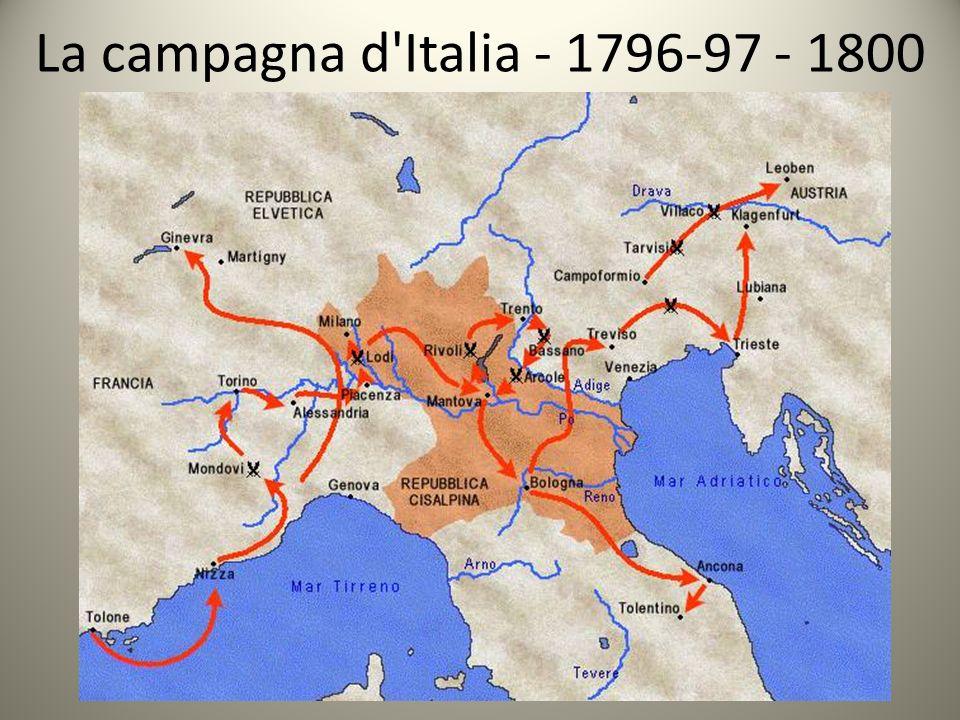 La campagna d'Italia - 1796-97 - 1800