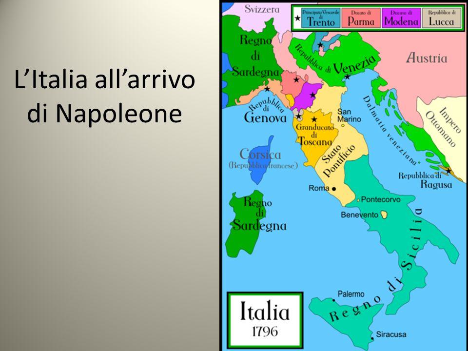 LItalia allarrivo di Napoleone