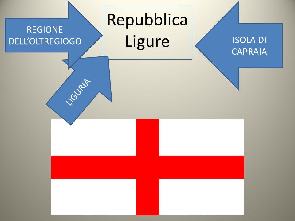 Repubblica Ligure LIGURIA REGIONE DELLOLTREGIOGO ISOLA DI CAPRAIA