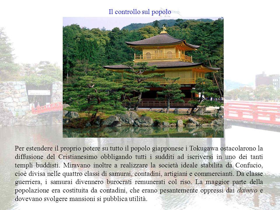 I samurai Quella dei samurai è una classe sociale molto particolare, che spesso si sovrappone alle altre.