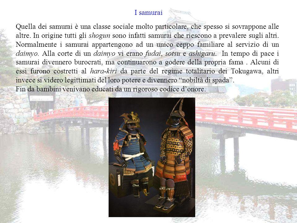 I tentativi di unificazione del Giappone da parte dei samurai