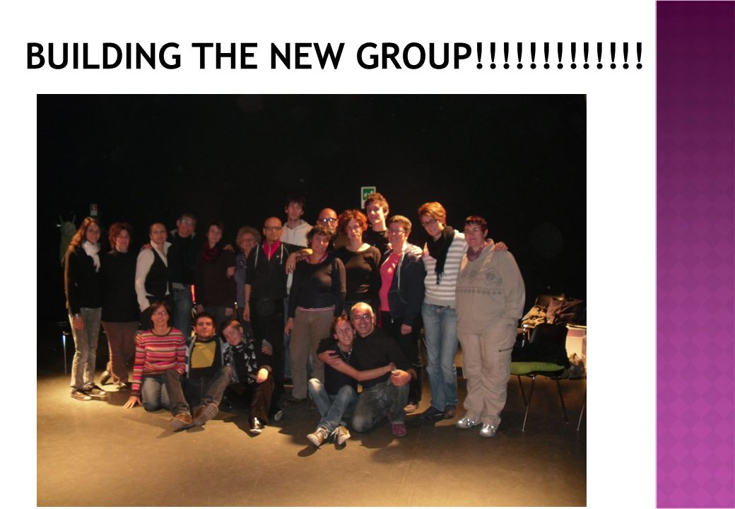 BUILDING THE NEW GROUP!!!!!!!!!!!!!