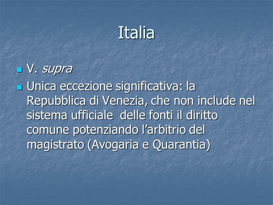 Italia V. supra V.