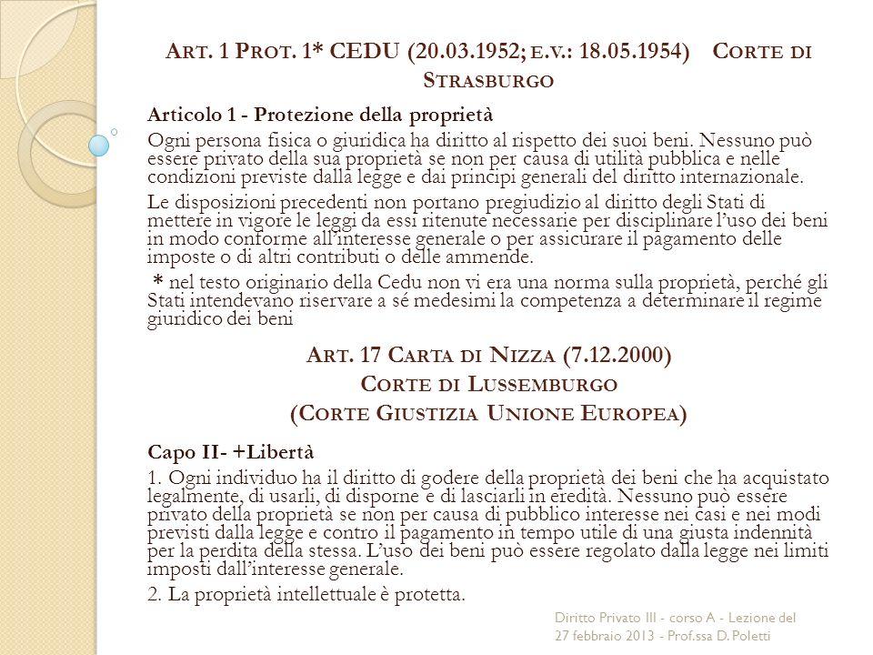 A RT. 1 P ROT. 1* CEDU (20.03.1952; E.
