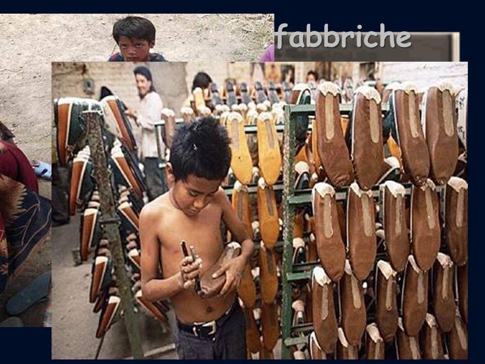 Bambini nelle fabbriche