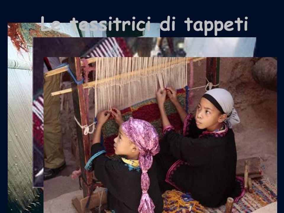 Le tessitrici di tappeti