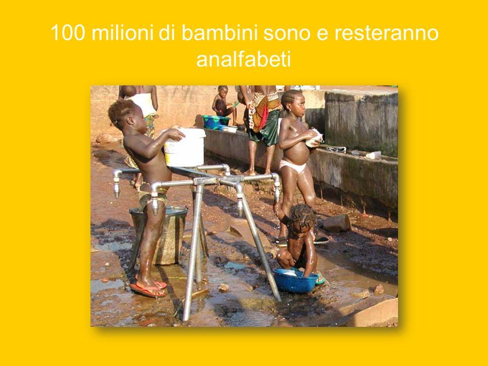 80 milioni sono i bambini di strada