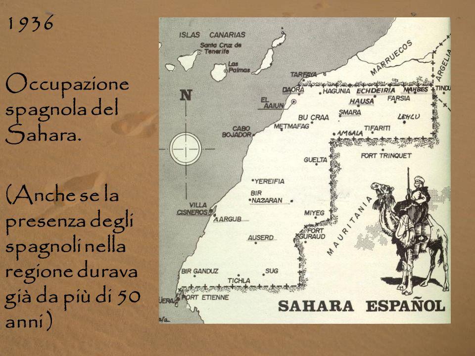 IL CONFLITTO NEL SAHARA OCCIDENTALE