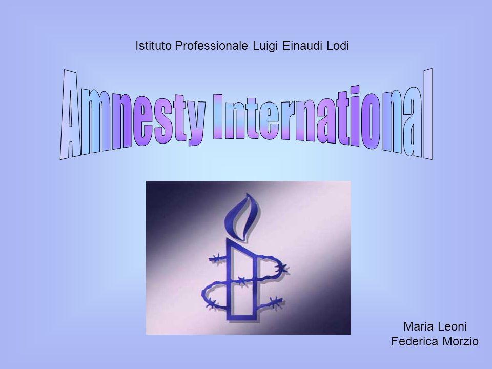 Amnesty International è un organizzazione non governativa sovranazionale impegnata nella difesa dei diritti umani.