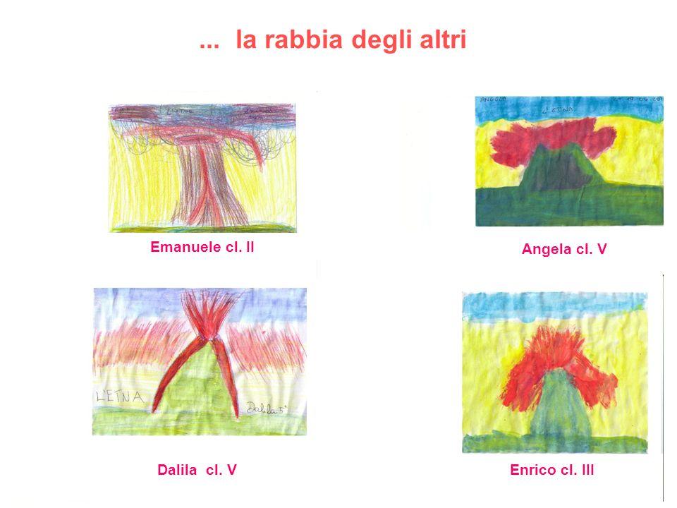 ... la rabbia degli altri Emanuele cl. II Angela cl. V Dalila cl. VEnrico cl. III
