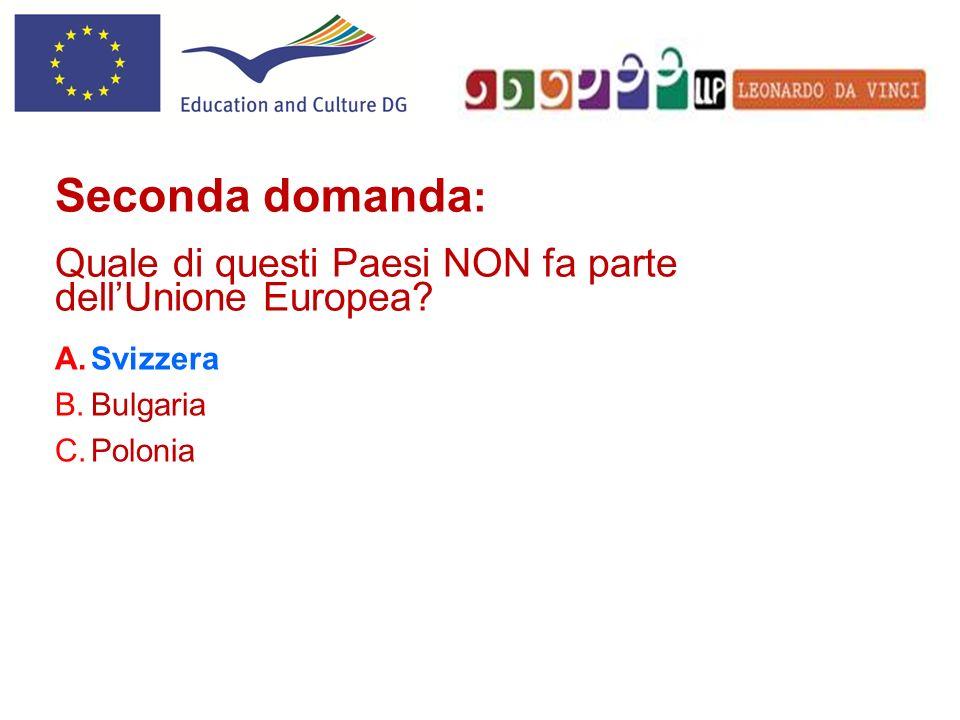 ? Quattordicesima domanda: Chi è lattuale Presidente del Parlamento Europeo?