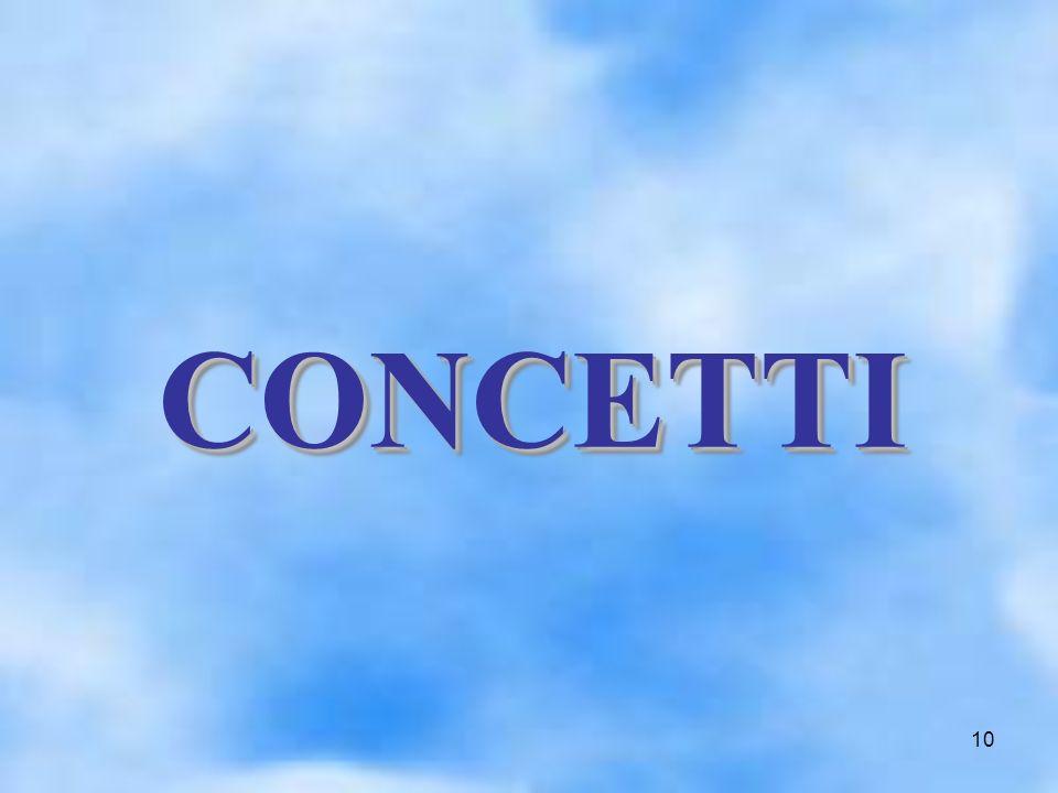 10 CONCETTI CONCETTI