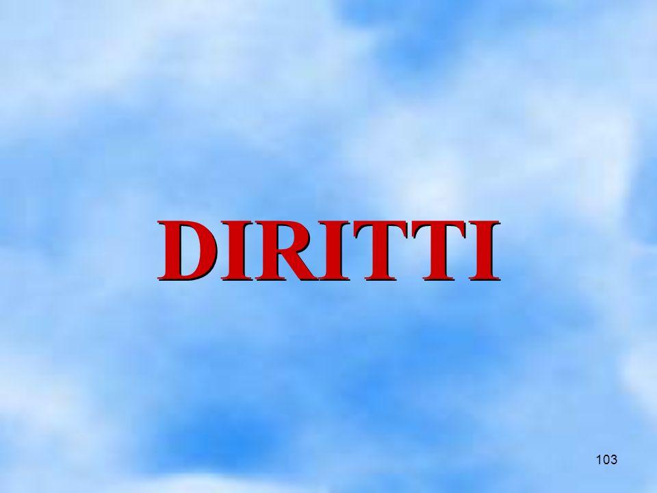 103 DIRITTI