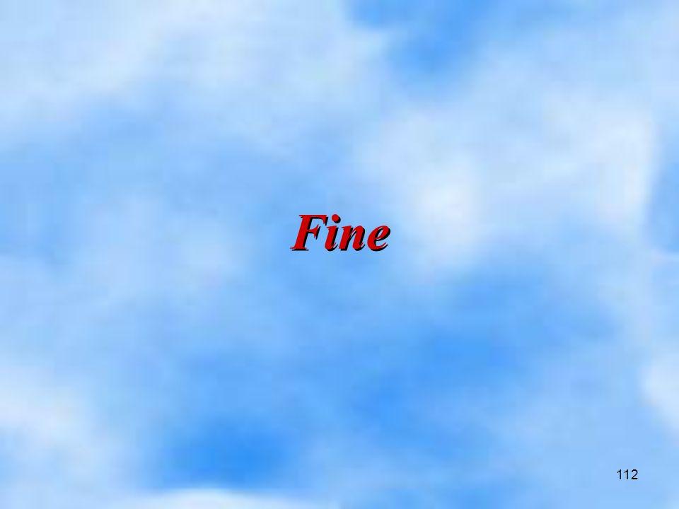 112 Fine Fine