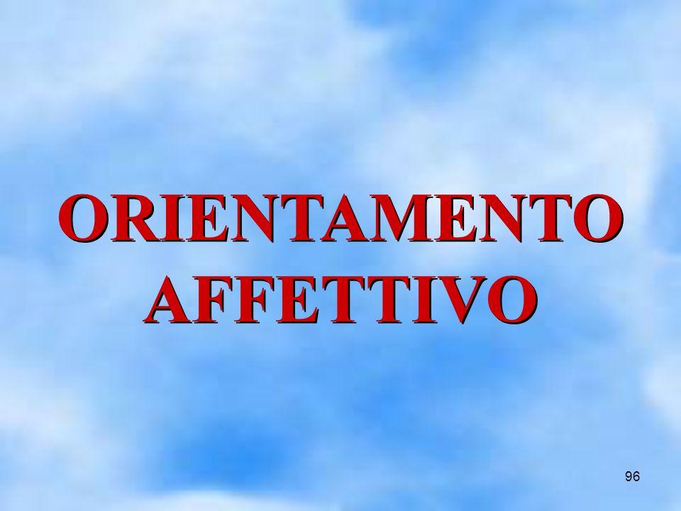96 ORIENTAMENTO AFFETTIVO