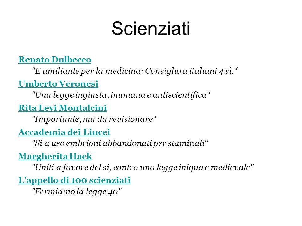 Scienziati Renato Dulbecco Renato Dulbecco E umiliante per la medicina: Consiglio a italiani 4 sì.