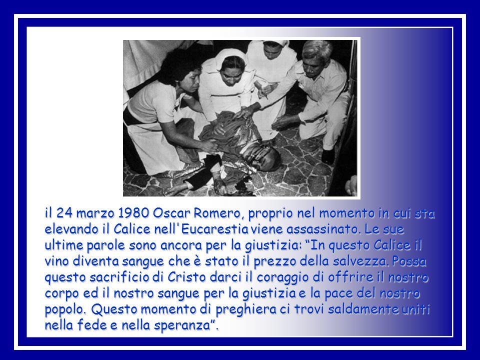In realtà Romero non invitò mai nessuno alla lotta armata, ma, piuttosto, alla riflessione, alla presa di coscienza dei propri diritti e all'azione me