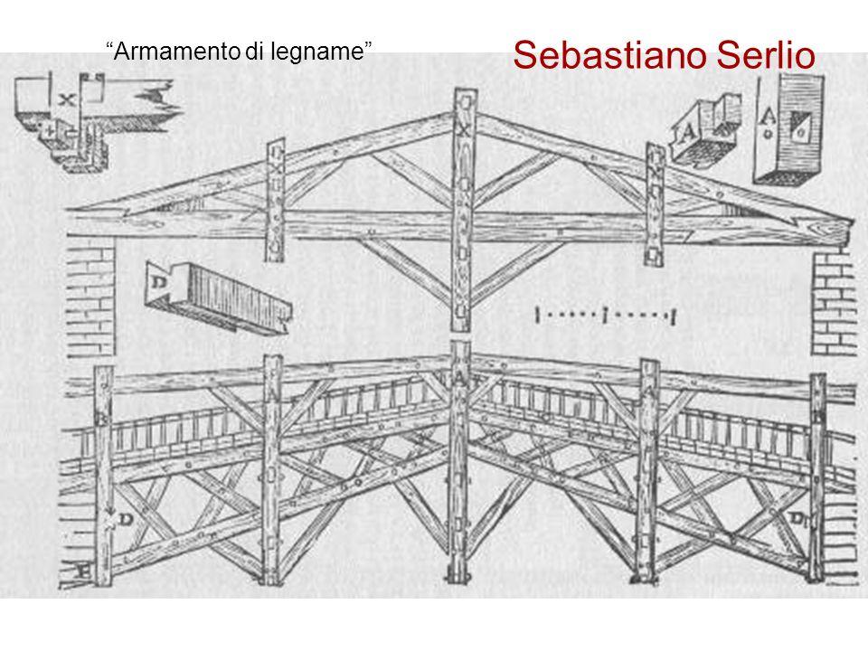 Sebastiano Serlio Armamento di legname